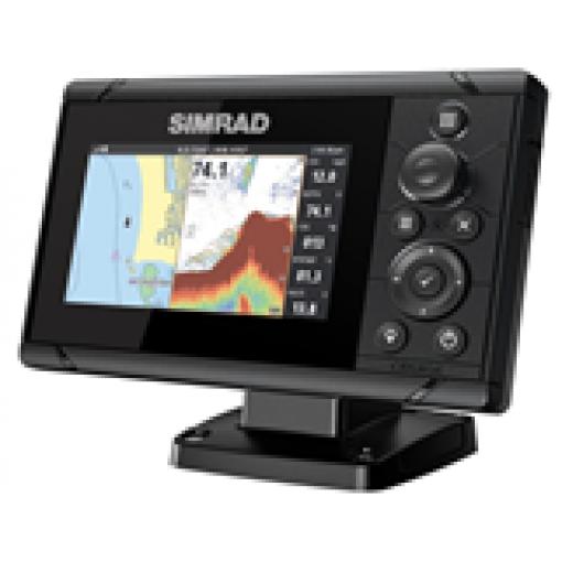 Simrad Cruise-5,ROW Base Chart,83/200 XDCR
